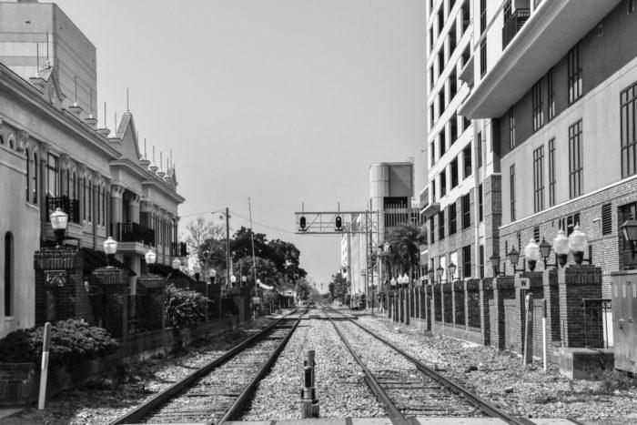 Spoorlijn Orlando 2017